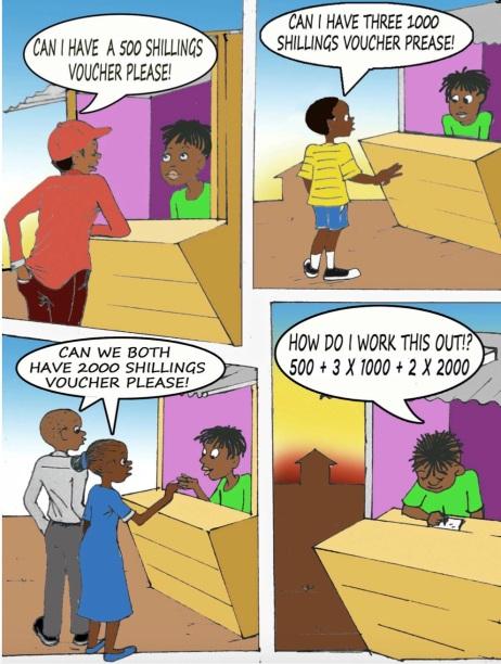 maths home insert